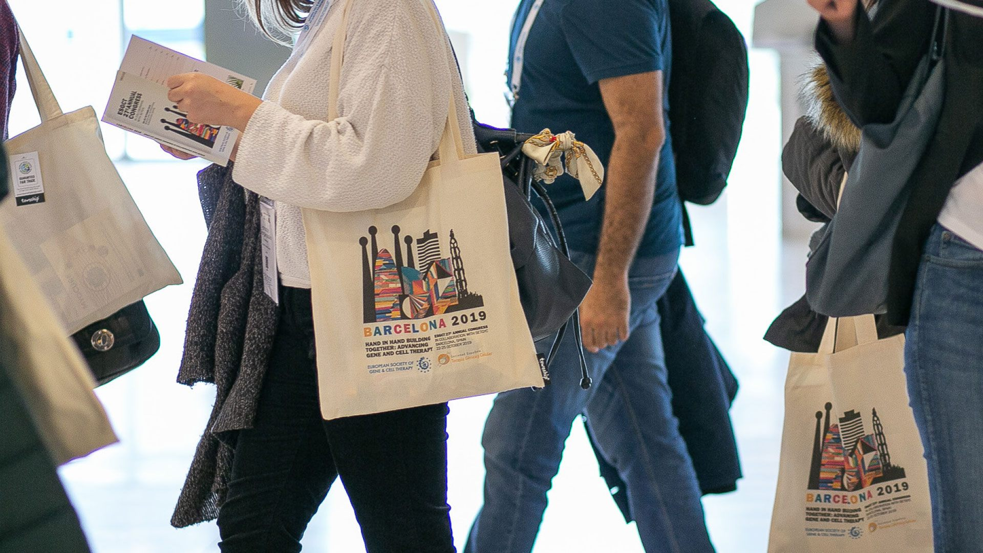 Barcelona 2019 promotional bags