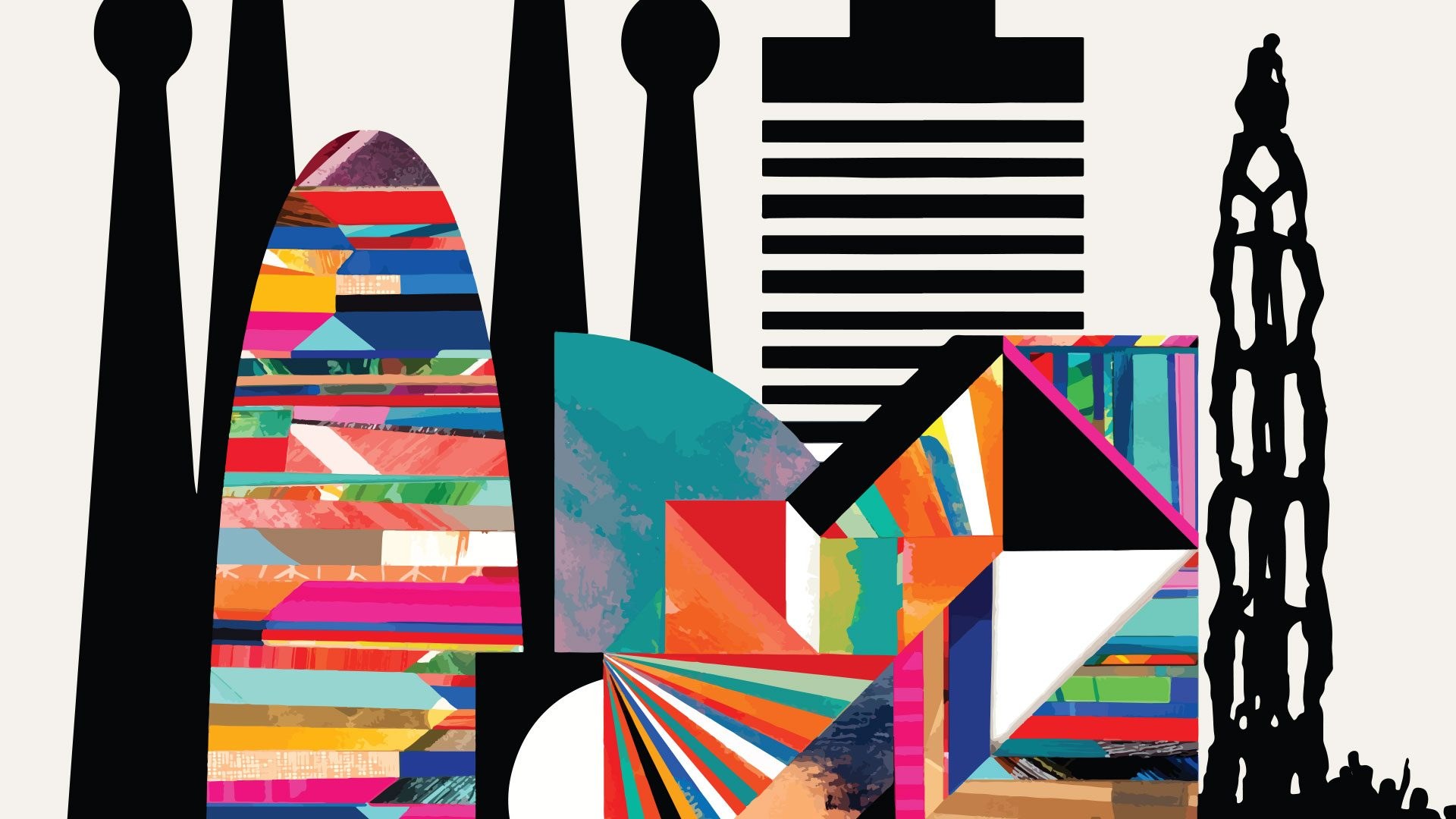 Barcelona skyline ESGCT Congress 2019