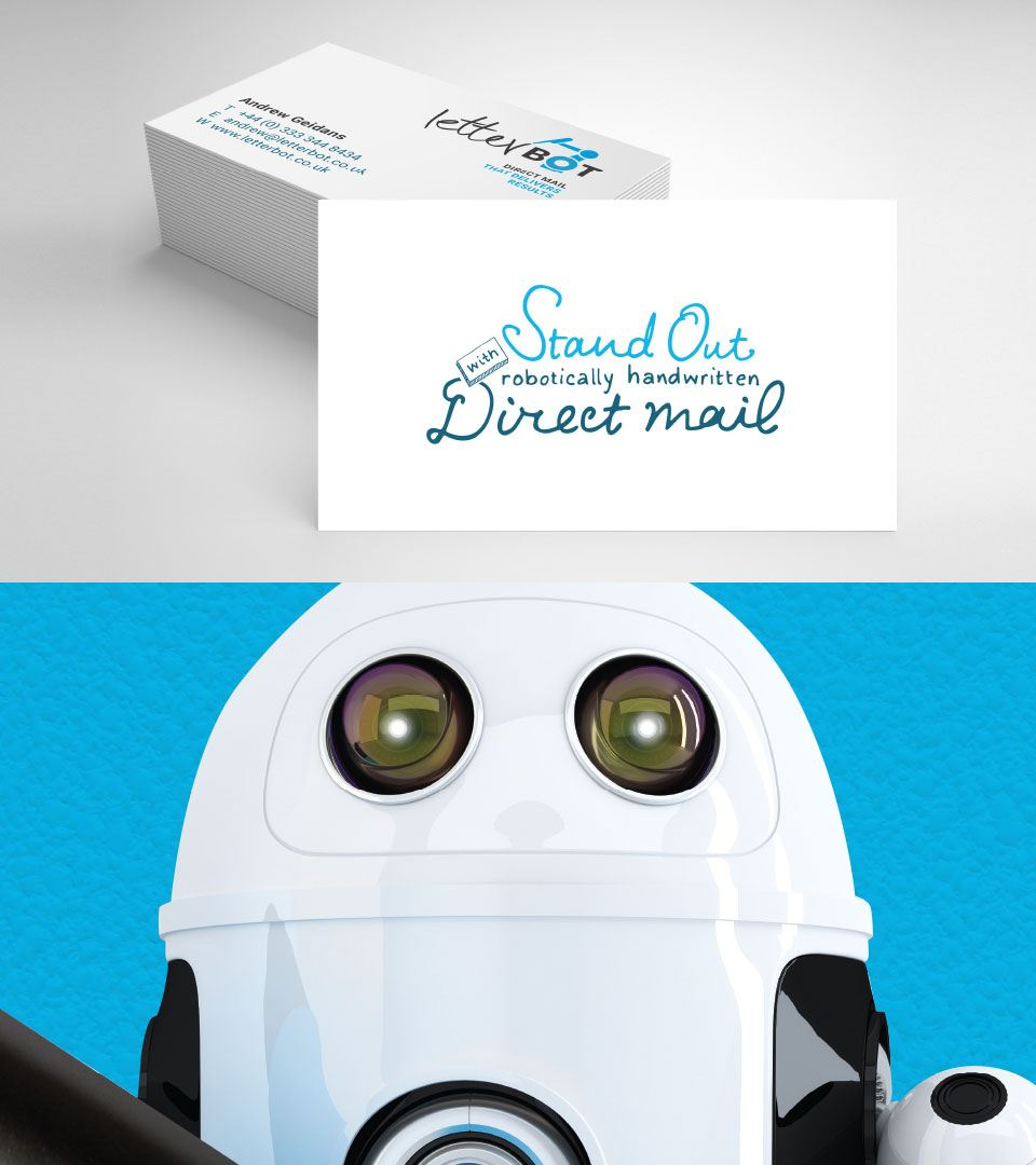 LetterBot business cards