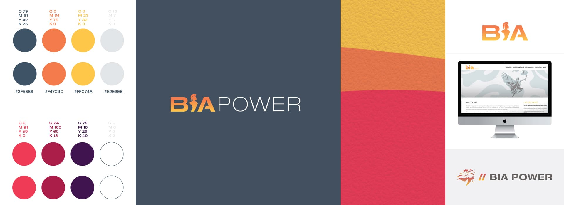 BiaPower colours and logo