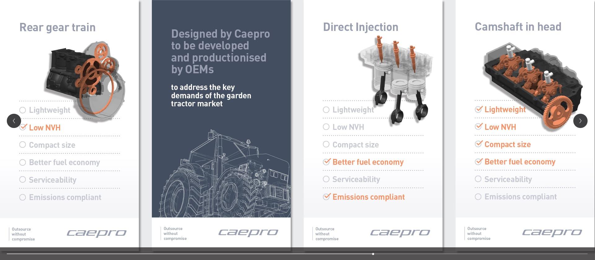 Caepro engine internals